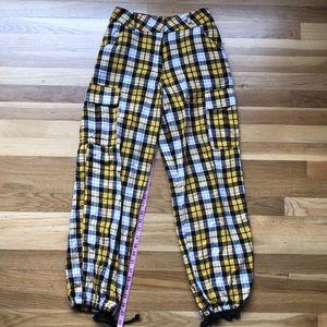 I.Am.Gia Plaid Cargo Pants
